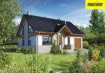 Проект одноэтажного дома с мансардой  - Муратор Ц282